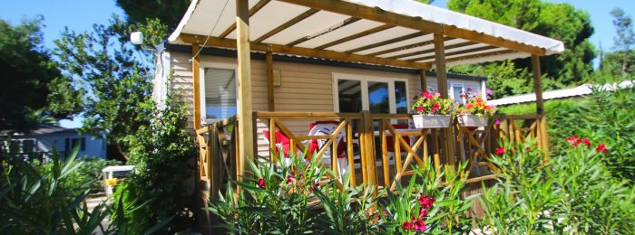 Mobil home supérieur 4/6 places-terrasse extérieur