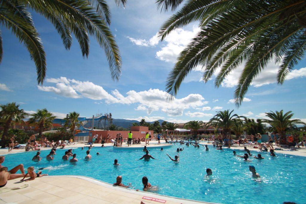 Espace aquatique et piscine argeles sur mer del mar village for Camping argeles sur mer avec piscine