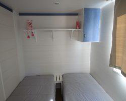 Mobil home économique 4 places(+10 ans) chambre enfant