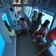 bateau à fond de verre
