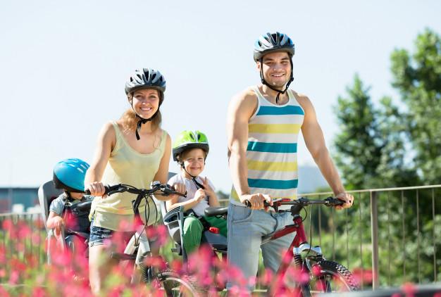 Famille location de vélos