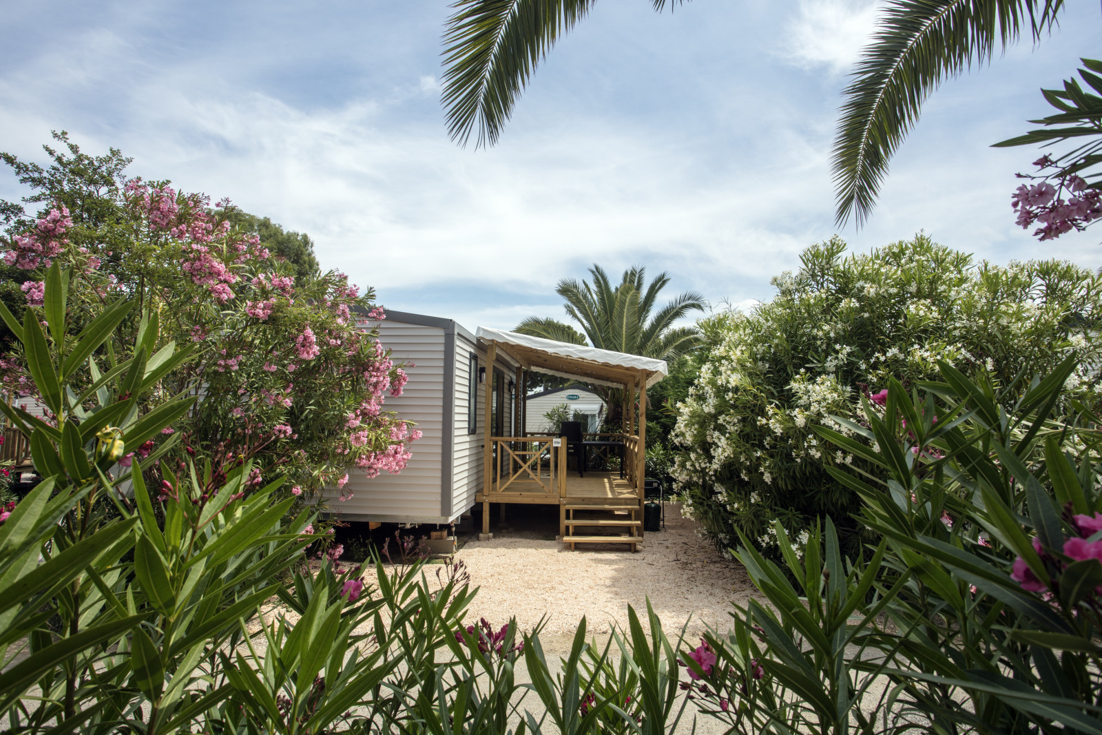 Emplacement mobil home